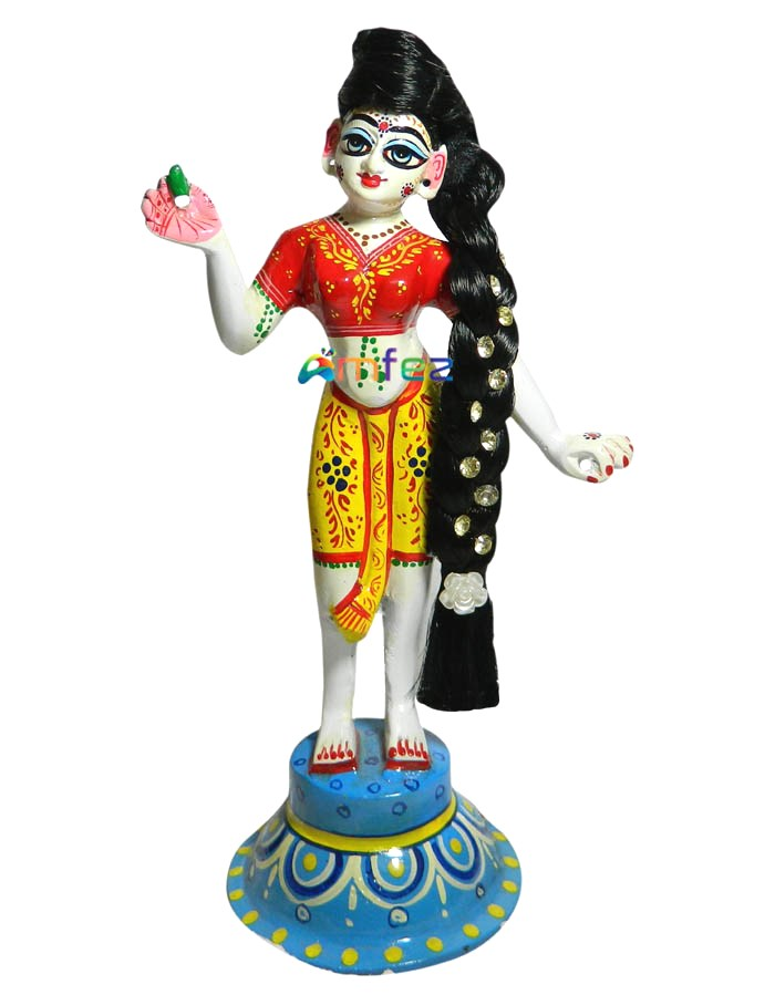 Radha Ji Hair Online In India Laddu Gopal Curly Hair Kanha Ji Ke Hair Amfez