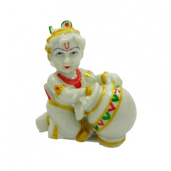 Handicrafts Laddu/Bal Gopal Wax Idol/ Statue