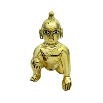 Beautiful Fine Ashtadhatu Finishing Laddu Gopal Idol