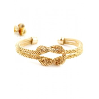 Stylish Urban Metal Knot Women's Bracelet