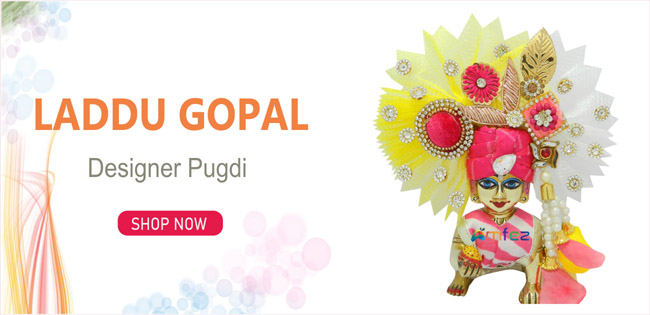 Laddu Gopal Designer Pugree