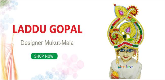 Laddu Gopal Mukut Mala